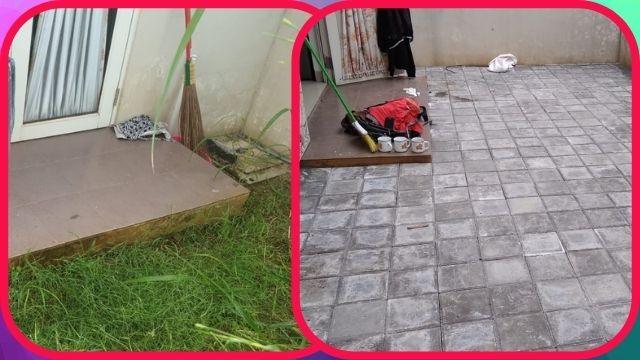 Pemasangan Paving Block Ubin Full Serpong Garden 2